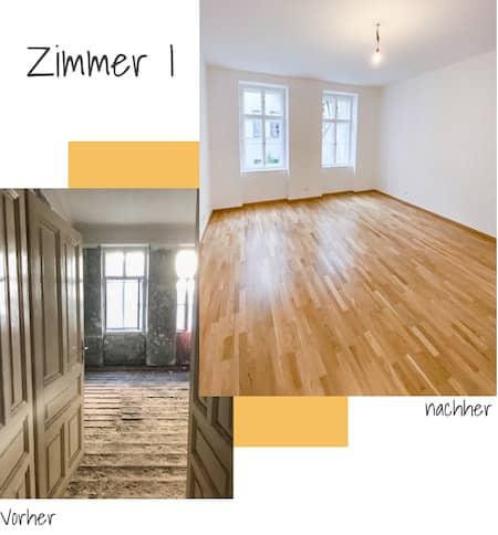 Bodensanierung Parkettboden Wien-450x484px