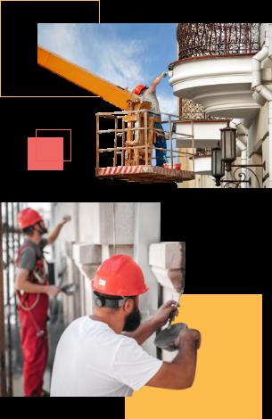 Fassadensanierung mobile