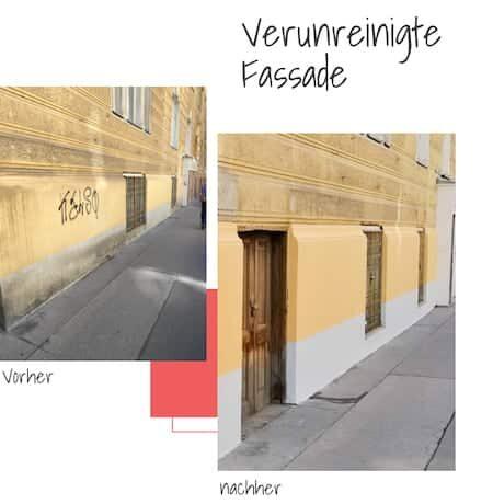 Fassade streichen Firma Wien-450x460px